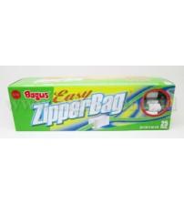 BAGUS EASY ZIPPERBAG 25'S 20CMx20CM