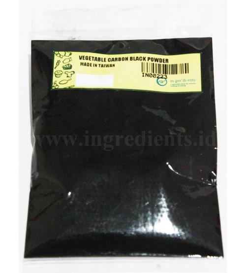 Vegetable carbon black powder