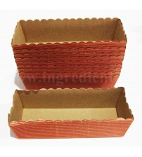 BAKING PAN RECT M1 17,5x6,5x5CM /10PCS