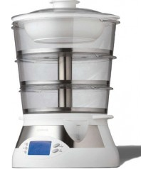 Kenwood Food Steamer  Metal 3 Tier FS560