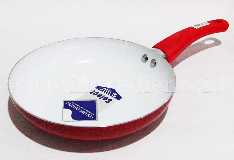 Ceramic frying pan list of ceramic cookware set for Peralatan kitchen set